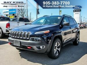 2016 Jeep Cherokee TRAILHAWK, 4X4, PANO SUNROOF, BACKUP CAM, RMT