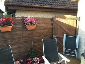 Garden recovery, decking, patios or fences