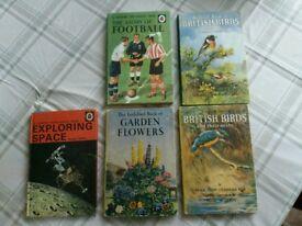 Hardback ladybird books
