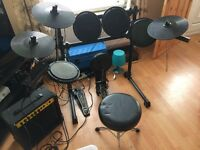 Black mamba Digital drum kit and Amp