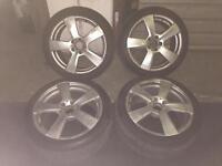 Mercedes alloys wheel