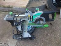mitre saw sliding comes with a special 0 degree blade for smooth cutting of timber