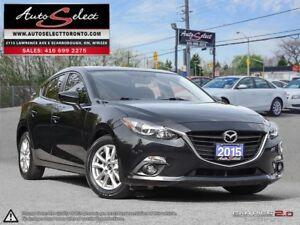 2015 Mazda Mazda3 ONLY 64K! **GS SKY TECH**BACK-UP CAM**LEATH...