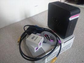 Black Sky Hub Router