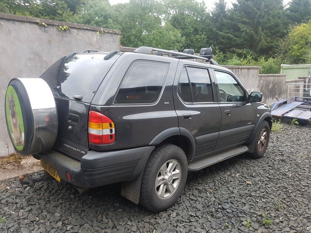 2002 opel frontera 4x4 jeep in carryduff belfast gumtree. Black Bedroom Furniture Sets. Home Design Ideas