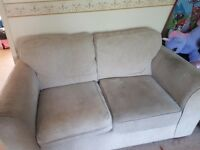 ***FREE*** Cream/beige Sofa and Puffay.