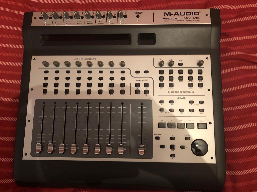 m audio projectmix io drivers