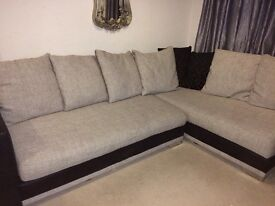 DFS L shape sofa is very well looked after. Comes out of pet and smoke free house.