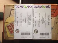 Two tickets for Field Day Festival, Victoria Park, London on Saturday the 3rd of June.