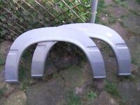New bongo/sprinter rear metal wheel arches