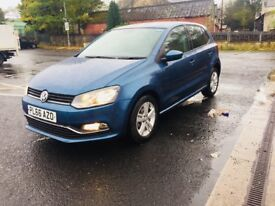 Vw polo 1.0 match 2017 alloys as new delivery miles cheapest in uk fvsh fully loaded dab must see