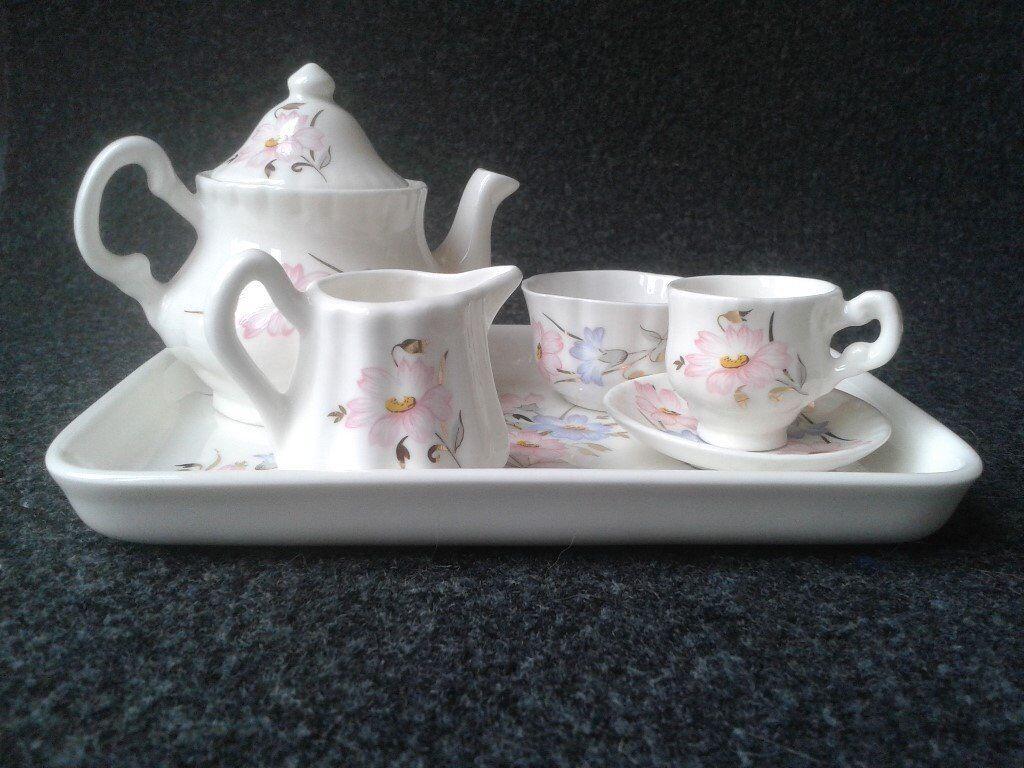 Royal Doulton miniature tea set