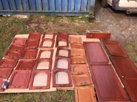 Complete caravan cupboard door set