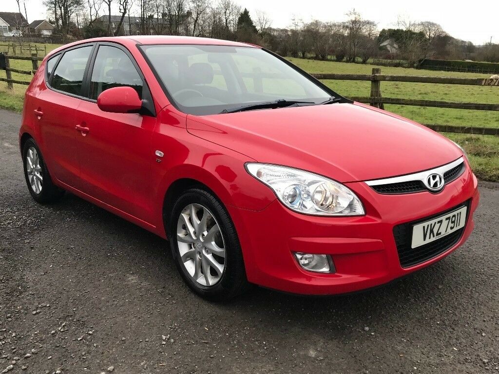 2008 Hyundai I30 1.6 CRDi Style 5dr full MOT, NEW TYRES & BRAKES trade in welcome, credit cards OK