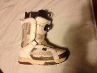 Womans snowboard boots DC Boa sz 4.5uk
