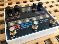 EHX Dual-Channel Stereo Looper Pedal