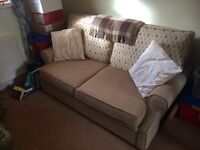 Good as new double sofa bed Strathaven collection only