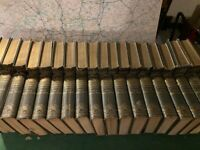Encyclopaedia Britannica Ninth-Tenth Edition. Complete set, 36 Volumes, Maps, Index