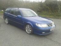 SAAB ESTATE 2.3 TURBO AERO HOT 2002 WITH SAAB HISTORY MOT END FEB 2018