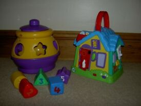 Activity House & Cookie shape sorter