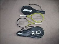 Prince Tennis Racquets. Choice of two or buy them both.