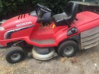 Honda ride on mower