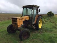 Renault 751s Tractor 2WD 75HP with V5 - Spares or Repair
