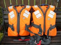 'DECATHLON TRIBORD' LIFE JACKETS - AS NEW CONDITION