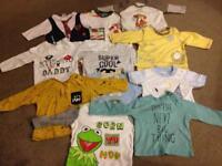 Baby boy's clothes bundle 3-6 months