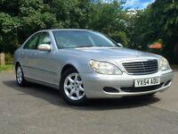 Mercedes Benz S Class S280 Automatic, 2 YEAR WARRANTY, SAT NAV, LEATHER,BMW,LEXUS,MERC,AUDI,FORD,POR