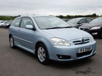 2006 toyota corolla 1.6 petrol with only 72000 miles, motd jan 2019 all cards welcome