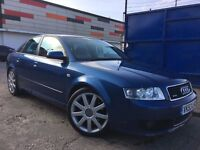 Audi A4 1.8 T Sport Quattro 6 Speed Full Audi Service History Cambelt & Water Pump Changed