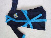 Boys age 5-6 Dressing gown - Batman