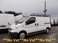 Vauxhall Vivaro 2.7T 2.0 CDTi 115 SWB L/Roof***12 MONTH MOT***