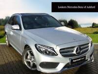 Mercedes-Benz C Class C220 D AMG LINE PREMIUM PLUS (silver) 2016-07-19