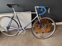 Mercian vintage bespoke bike