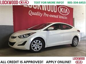 2016 Hyundai Elantra GL - BLUETOOTH, HEATED SEATS!!!