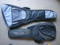 Guitar bags/cases Ritter £10 and Kinsman £25 All zips working