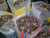 For Sale 15 bags of 20 ml gravel.