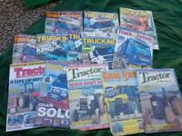 Truck/tractor.magazines