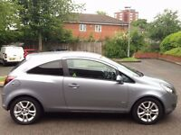 VAUXHALL CORSA 1.2 SXI 3DOOR,HPI CLEAR,1 OWNER,YEAR M.O.T,PRIVACY TINTED GLASS,ALLOYS,AUX,FOG LIGHTS