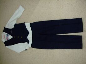 Monsoon Age 5 years Boys Navy Blue 3 piece outfit