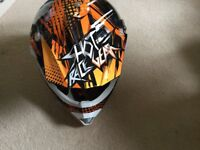 Mx crash helmet as new