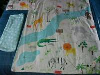 Cot bed/toddler bedding
