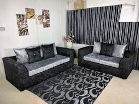 !!BEST BARGAIN EVER,BEST QUALITY SOFA IN EVERY ONES REACH ,DYLAN CORNER CRUSHED VELVET ,FR CERTIFIED