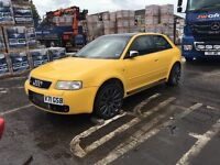 Audi s3 rolling shell (fresh respray)