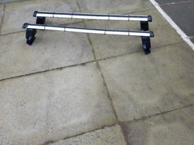 Roof bars for Audi A1 3 door model