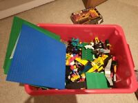 5kg box of assorted lego