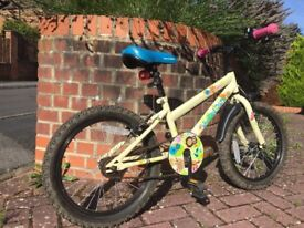 Fantastic girls Apollo Woddland Charm 16'' bike in excellent condition
