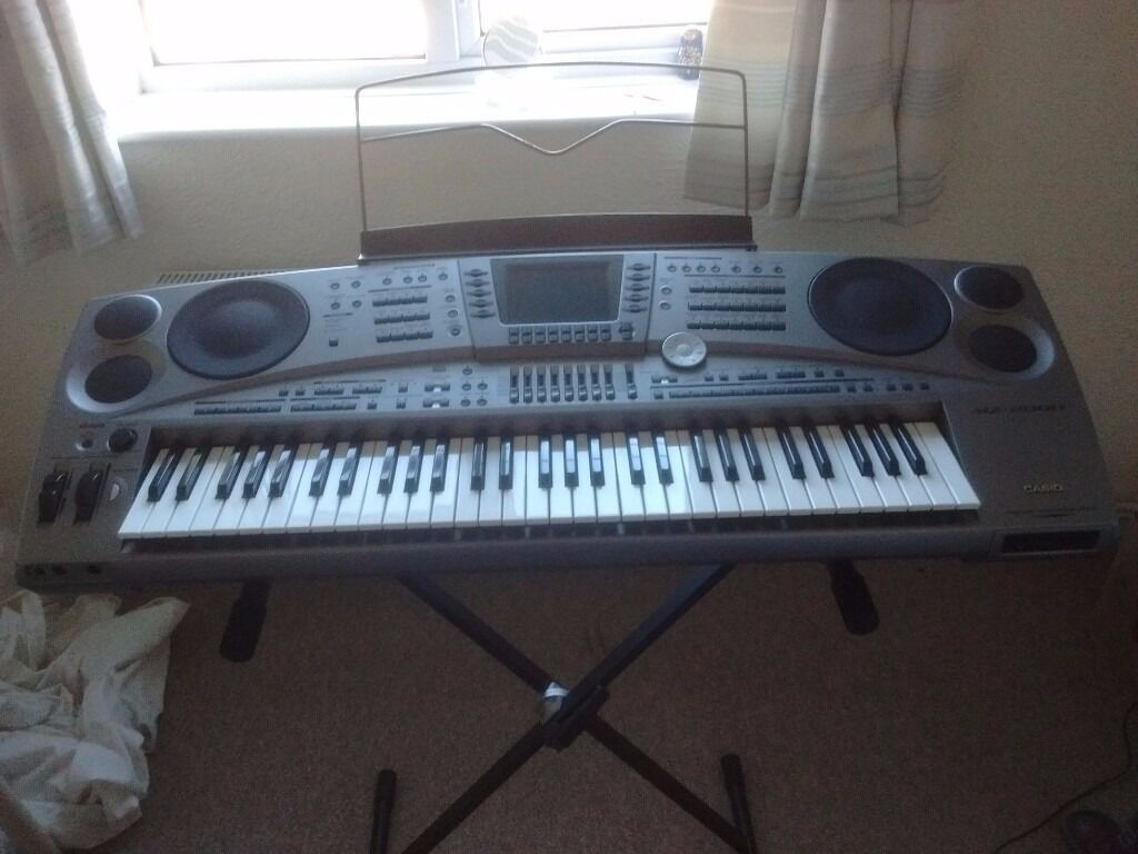 casio mz 2000 keyboard immaculate in ashford surrey gumtree. Black Bedroom Furniture Sets. Home Design Ideas